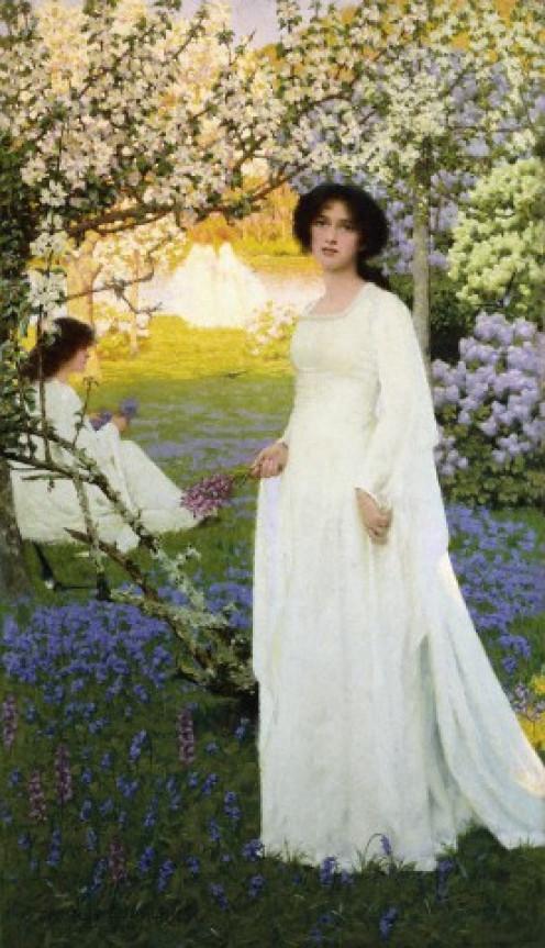 Springtime  by Arthur Herbert Buckland