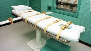 Table for lethal injection.