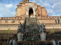 Wat Chedi Luang - Buddhist Temple in Chiang Mai, Thailand