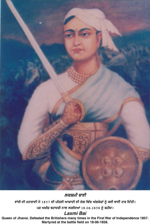 Lakshmi Bai Queen of Jhansi