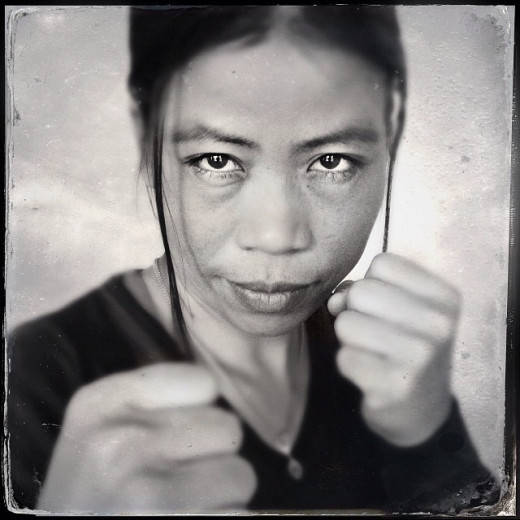 Olympic boxer Mary Kom