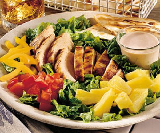 Grilled Chicken Salad served at Wake&Bake Cafe, Shimla