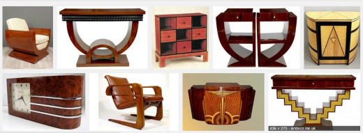 Examples of Art Deco furniture
