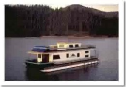 Travel in Style houseboat on lake shasta