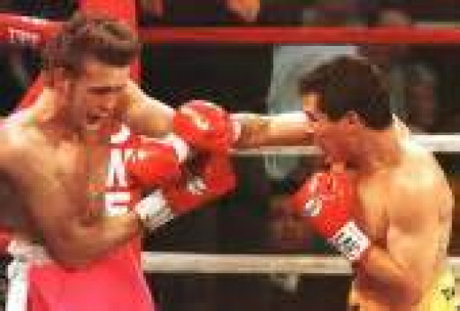 Scott Waler was stopped in two rounds by J.C. Chavez in 1996. Chavez had a record of 95-1-1 at the time of the bout.