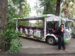 Zoo shuttle bus