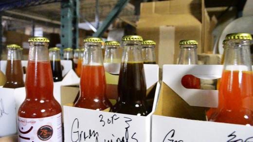 Dixie Elixirs soda