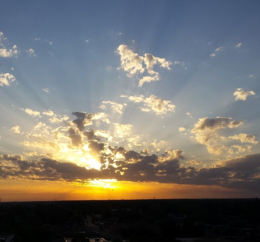 A joyful and colorful dawning...