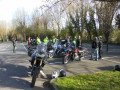 Motorcycling to the Bushe Cafe UK
