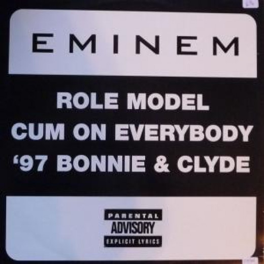 Cover art for the album Role Model (song) by Eminem.