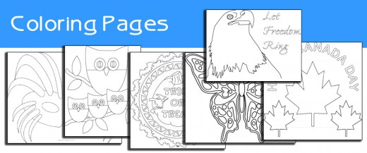 Printable coloring pages for all ages