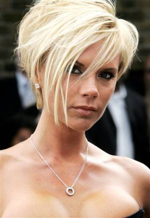 victoria beckham short hair back view. Well ack to the Vicoria