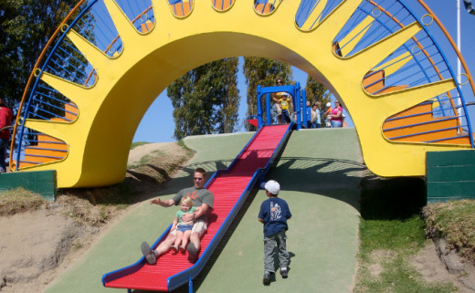 Dennis the Menace Park in Monterey
