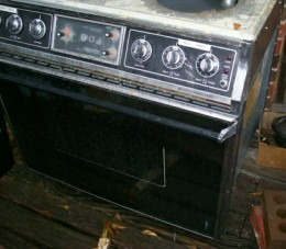 Built In Stove~gave away