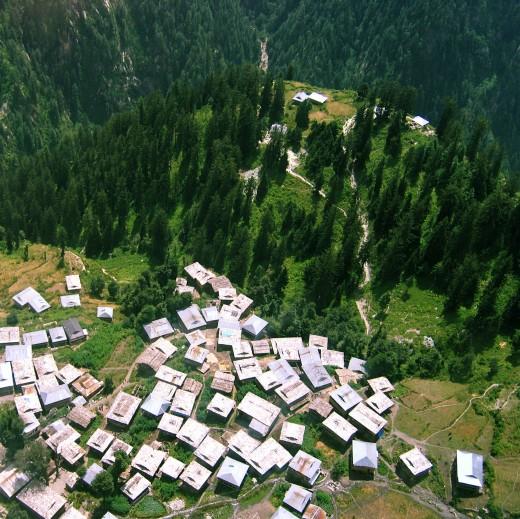 Malana (Aerial view)