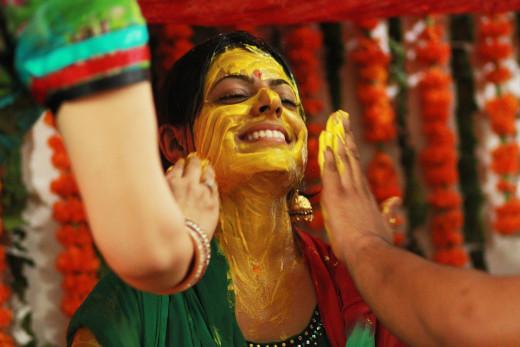 Haldi Ceremony of Bride
