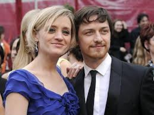 Mr. and Mrs. James McAvoy