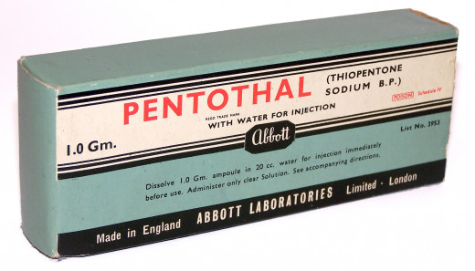 Pentothal truth serum