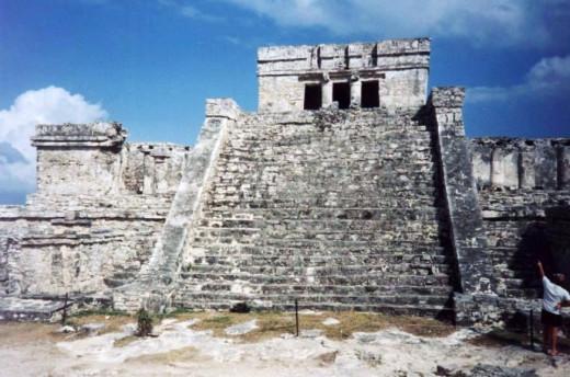 Tulum, Castillo, in1995