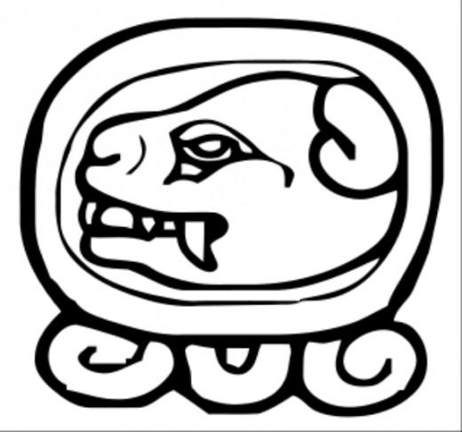 Mayan calendar graphic