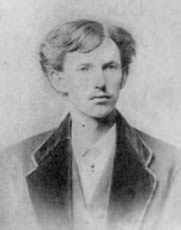 "John Henry ""Doc' Holliday 1851-1887 Gambler, Gunfighter, Dentist and Friend to Wyatt Earp"