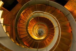 The Art of Photographing Spiral Staircases