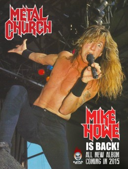 Mike Howe is back in the band for the first time in two decades!!