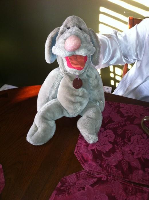 Wrinkles Hand Puppet