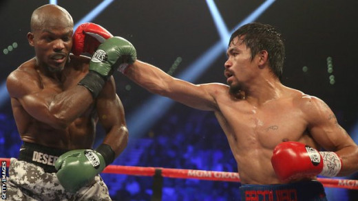 Manny Pacquiao gave Timothy Bradley a punch that he'll never forget. It is discipline in action.