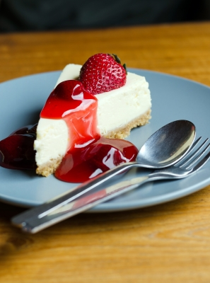 Consuming a slice of cheesecake one hour before your run may lead to intestinal vengeance.