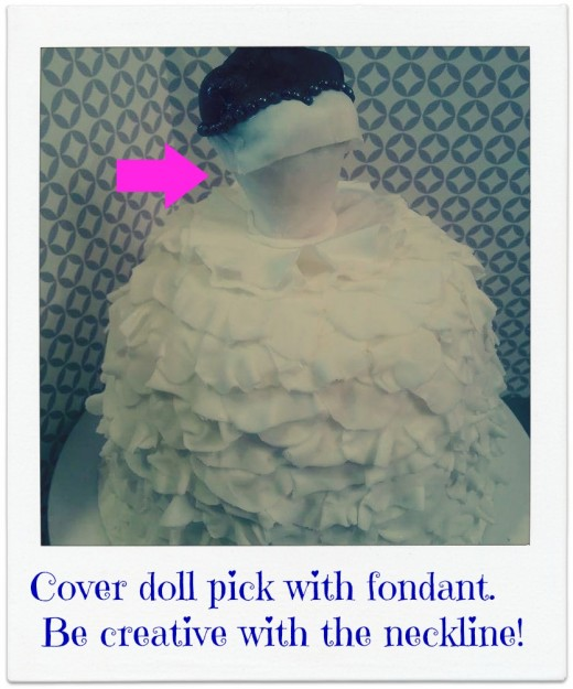 Cover doll pick.