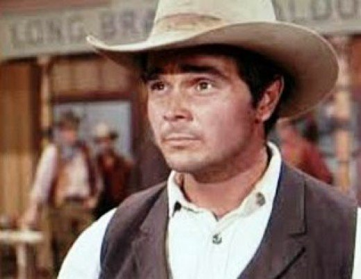 """Buck Taylor starred as """"Newly O'Brian,"""" the town gunsmith."""