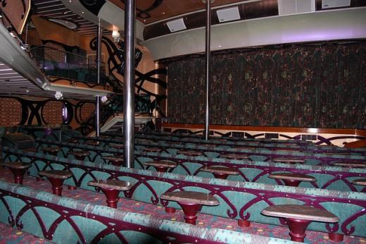 Carnival Inspiration Paris Main Lounge