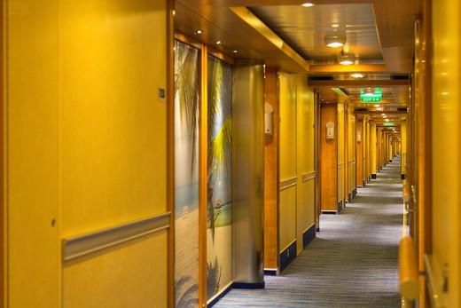 Stateroom Corridor