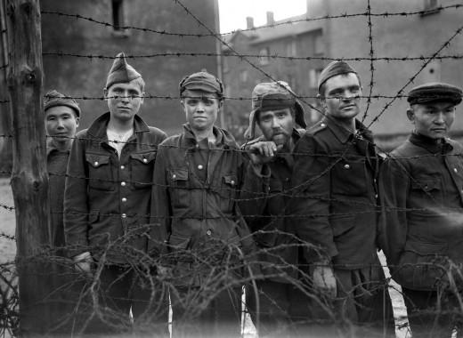 German POW camp