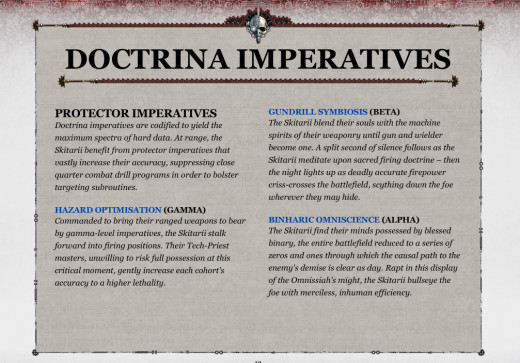Skitarii Codex Review