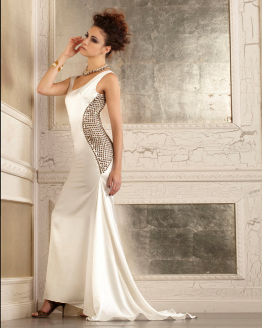 Another beautiful dress sold at discount sample price