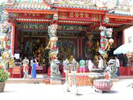 Chinese Temple at Ayutthaya