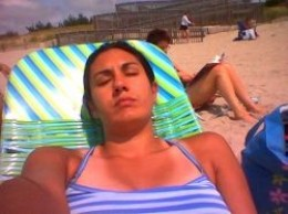 Campe May,  NJ (Sunset beach?)