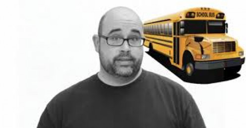 This school bus driver is the ideal chaperone.
