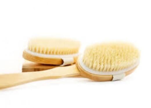 Dry skin brushing is an amazing healing modality