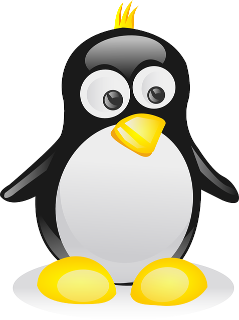Linux likes to use the Black Penguin named Tux as it's mascot. Some games like TuxRacer have been made from it.