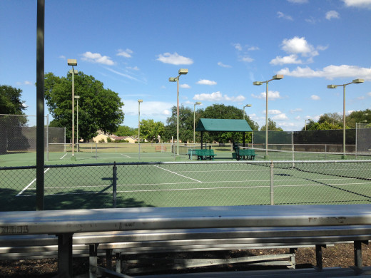 Onion Creek Tennis Courts Austin TX