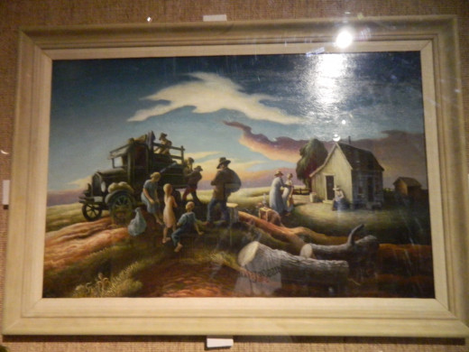 Original art by Thomas Hart Benton