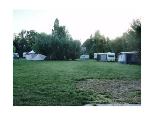 camping at a farm