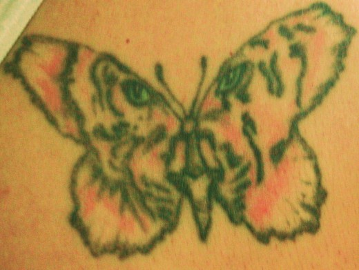 My Tattoo, close-up