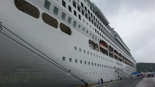 CIRs sometimes interpret for major events - such as the arrival of cruise ships.
