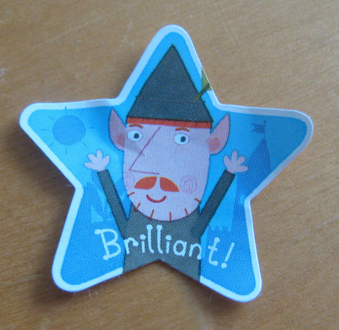 Sticker from 'Ben & Holly's Little Kingdom'