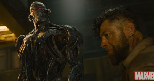 Ultron speaking to Ulysses Klaw