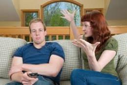Her husband is less concerned.